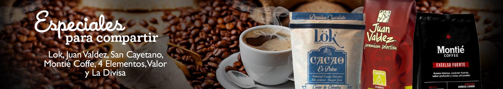 Cafés  - plata