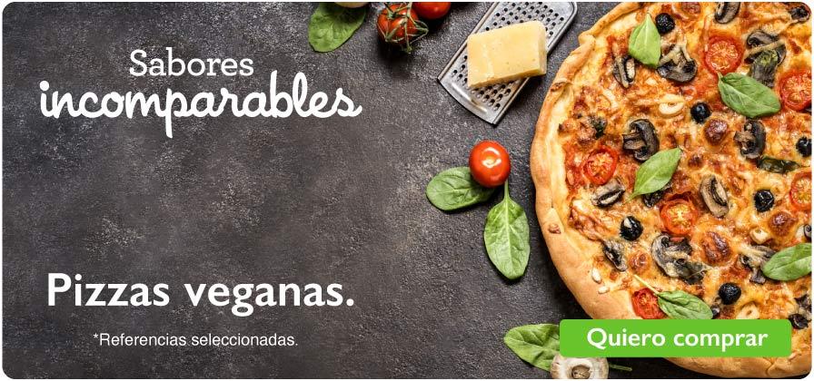 Pizzas veganas