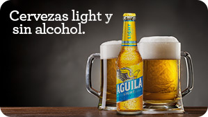 cervezas light y sin alcohol